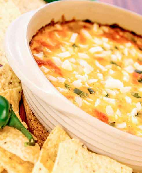 Hot Bean-Cheese Dip